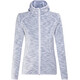 Meru Sitia Fleece Hoody Women Light Grey Multicolor